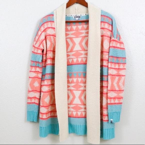 Roxy Sweaters - ROXY BOHO FUZZY CARDIGAN
